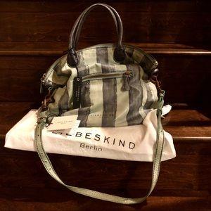 Liebeskind Berlin Madrid Striped Tote Bag